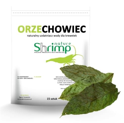 Listy ořechu (Walnut leaves) 15ks - Shrimp Nature