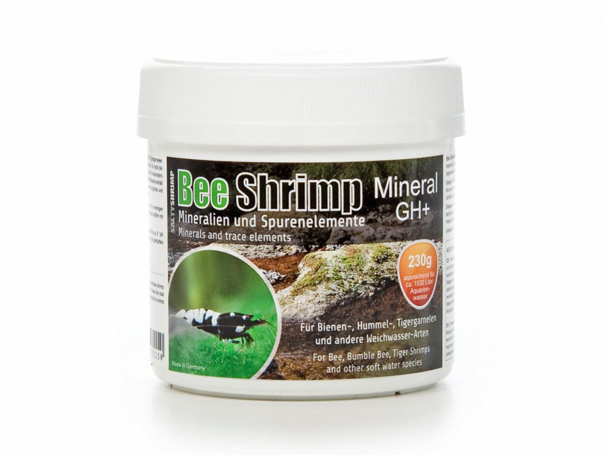 SaltyShrimp GH+ 230g Bee Shrimp Mineral