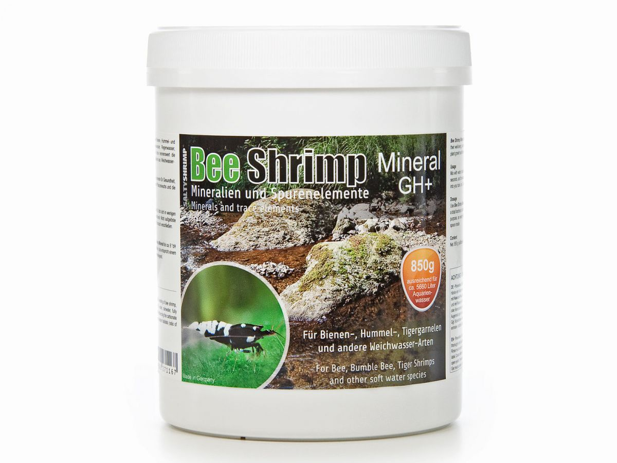 SaltyShrimp GH+ 850g Bee Shrimp Mineral