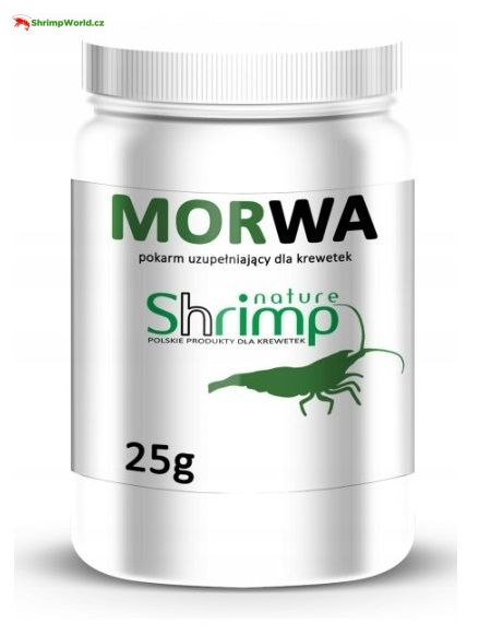 Krmivo z listí Moruše (Mulberry Leaf) 25g - Shrimp Nature