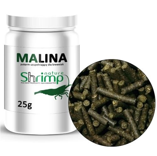 Krmivo z listí Maliny (Raspberry) 25g - Shrimp Nature