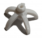 Shrimp Lollies Holder - White